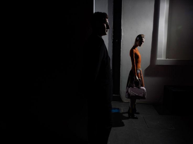 The Cut. Seen in Milan: Fashion's Dark Shadows and Halos. Missoni. Photo: Alex Majoli/Magnum