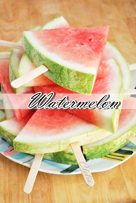 I Want #Summer !!! ♥ #Watermelon #Fruit