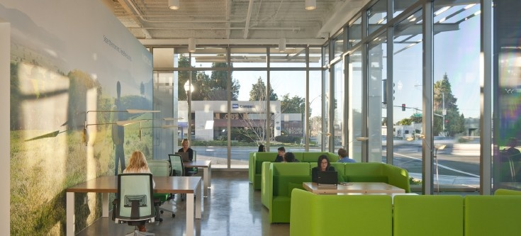 Business/Staff Lounge - Nokia Office - by Gensler