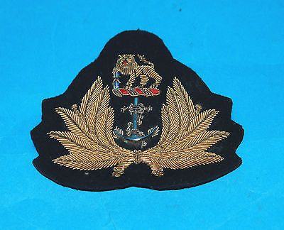 Details about A RARE SOUTH AFRICAN NAVY OFFICERS CAP BADGE (A)