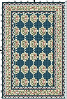 Rug pattern from Casey's Minis