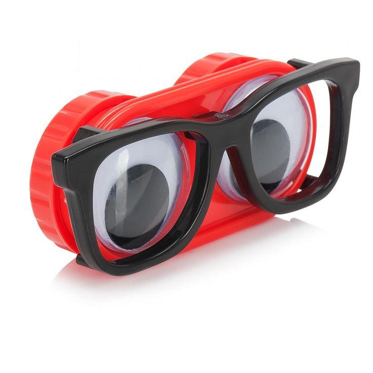 Une boite à lentilles très drôle pour tous les geeks qui portent des lentilles de contact. Enfin une jolie petite boîte rigolote pour décomplexer un bon coup