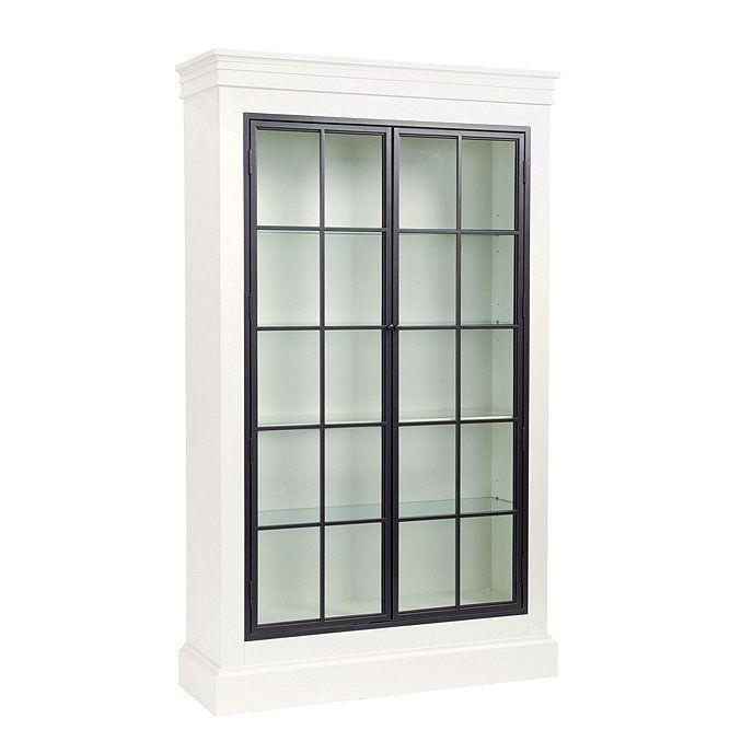Delano Glass Door Cabinet Glass Cabinet Doors Iron Doors Glass Door