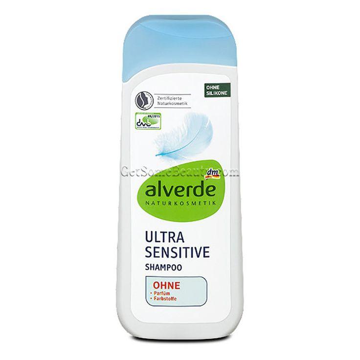 ALVERDE Natural Cosmetics Ultra Sensitive Shampoo 200 ml | Get Some Beauty