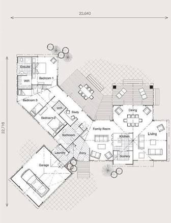 Image result for north facing house plans nz