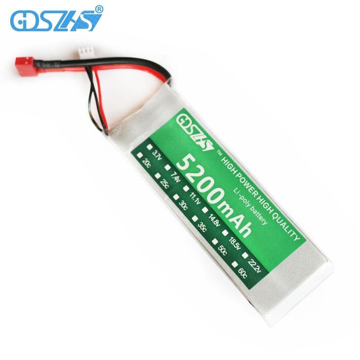 18.25$  Buy now - GDSZHS Power 7.4V 5200mAh Lipo Battery 30C 2S Battery 2S LiPo 7.4 V 5200 mAh 30C 2S 1P Lithium-Polymer Batterie For RC car  #bestbuy