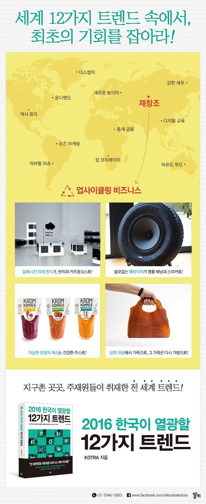 [도서] 2016 한국이 열광할 12가지 트렌드, KOTRA 저, 9788952775115   YES24 상품정보