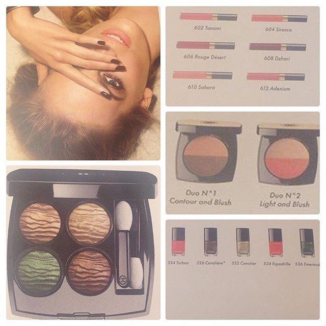 Sneak Peek: Chanel Makeup Collection Summer 2016 Dans La Lumiere L'Ete