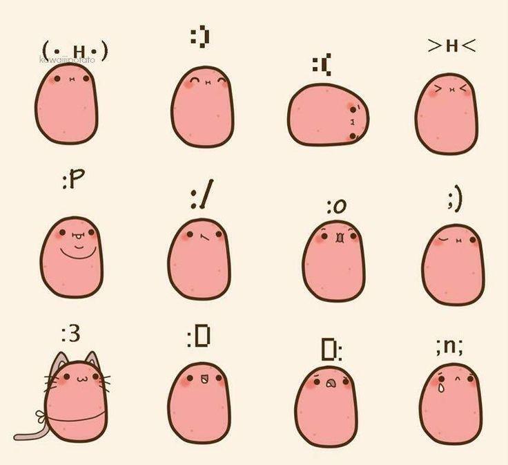 Image result for potatoes kawaii