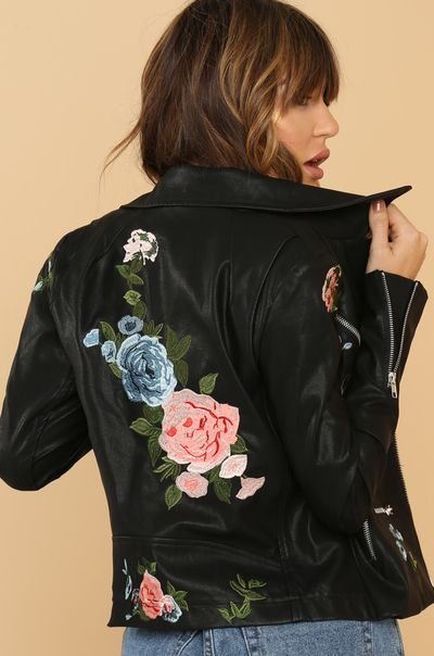 Wild About You Jacket - Black