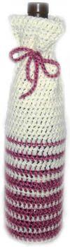 crochet wine bottle cover  http://www.crochetspot.com/crochet-pattern-easy-wine-bottle-cover/