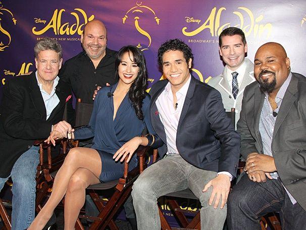 Aladdin Broadway Cast