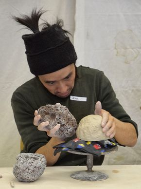 Mug Revolution's blog: Inayoshi Osamu Workshop. Osamu's process and work ere featured in the September 2014 issue of Ceramics Monthly http://ceramicartsdaily.org/ceramics-monthly/ceramics-monthly-september-2014/