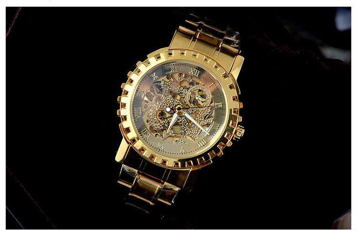 Herrklocka Winner - Gold Dragon #winner #skeleton #armbandsur #klocka #klockor #herrklocka #herrklockor #runns #watch #watches #gold