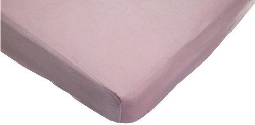 "American Baby Company Heavenly Soft Chenille Crib Sheet, Pink by American Baby Company. $19.09. From the Manufacturer                The Heavenly Soft Chenille fitted crib and toddler bed sheet is perfect for standard size 28"" X 52"" mattresses. The Ultra soft elegant material is perfect for baby's comfort. It's a must have for today's nursery and is available in a variety of colors to match your favorite bedding. Matchine wash warm, tumble dry low.                            ..."