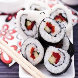 Sushi - easy, fast, delicious