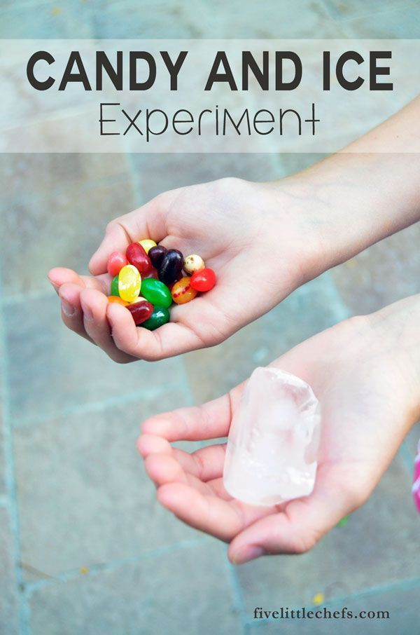 Teach kids about recognizing service opportunities with this Candy and Ice Experiment.