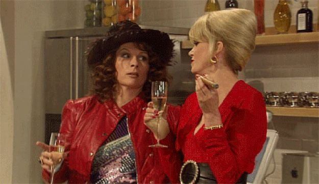 ... please, please, please, please let this be true!!!!!!!!...Here's hoping! | The Ab Fab Movie Is Finally Maybe Definitely Going To Happen In 2015