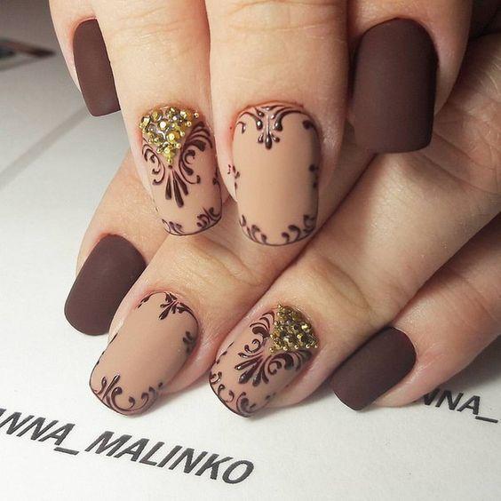 Mejores 62 imágenes de elegante uñas en Pinterest | Arte de uñas ...