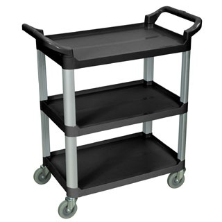 Look What's NEW! at PilgrimMedical.com - Contemporary Plastic Utility Carts combine functional storage, modern styling at an affordable price.  Durable polypropylene shelves and aluminum upright posts offer a clean, modern look while resisting scratches, chips and dents. See them now at PilgrimMedical.com