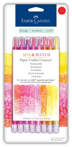 Faber Castell Paper Crafter Crayons 20% off retail! $8.00, via Etsy.