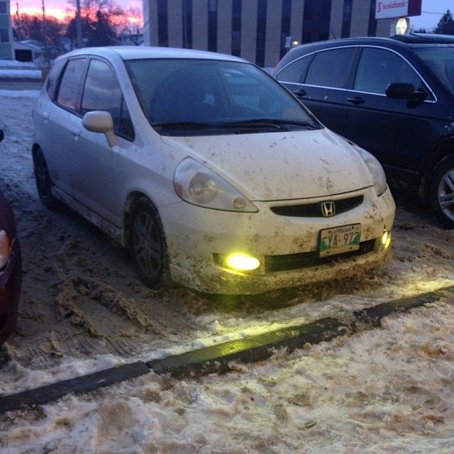 64 best images about honda fit jazz gd3 on pinterest for Honda fit in snow