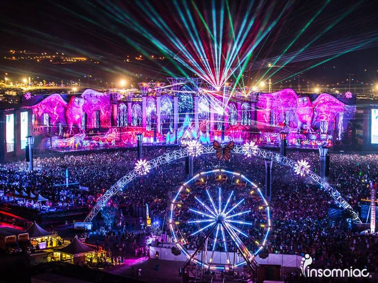 "I love the atmosphere at EDC, the motto is ""Come in peace or don't come at all"". Everyone is so excited to be there and make new friends."