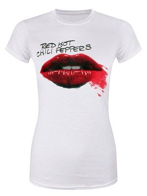 This awesome Red Hot Chili Peppers tee features the now iconic lipstick covered lips, which first appeared on the bands Greatest Hits album. The American funk rock band are the most successful band in alternative rock radio history, currently holding the record for most number-one singles. Add this awesome tee to your wardrobe and wear it with pride. Official merchandise.