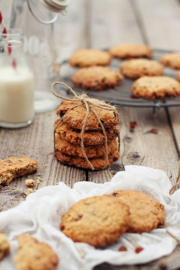 Owsiane ciasteczka z rodzynkami; Gryczane ciasteczka ...