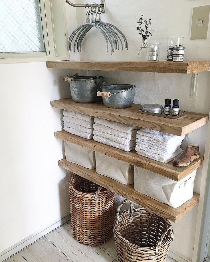 タオル収納棚も素敵に快適に|LIMIA (リミア)