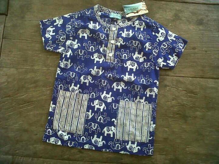 batik cenik gajah kombinasi garutan