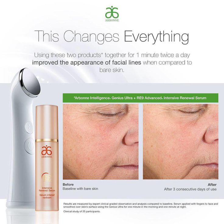 arbonne genius ultra how to use
