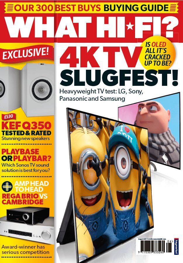 <strong>In this issue...</strong>    This time of year when the trickle of new-season televisions turns into more of a torrent - and this issue we have a marvellous maelstrom of brands and technologies in our 55in 4K TV group test.    Not only do we pit the big four of the TV world - LG, Panasonic, Samsung and Sony - against each other, but there's a clash of technologies as well, with Samsung's QLED making a stand against the seemingly inexorable OLED advance. And, then, once your decision…
