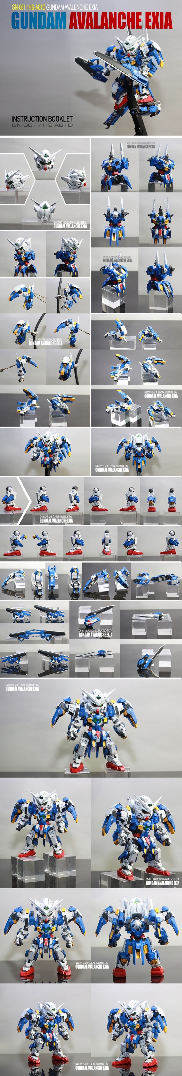 0nam5043's Latest Work: SD GUNDAM AVALANCHE EXIA. Full REVIEW (A Lot of Images) http://www.gunjap.net/site/?p=329361
