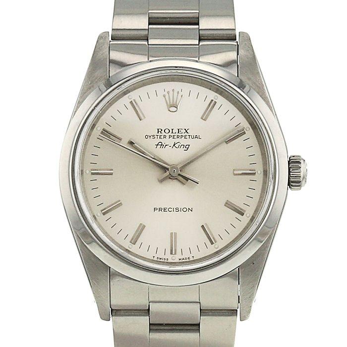 Reloj Rolex Air King de acero Ref : 14000 Circa 91