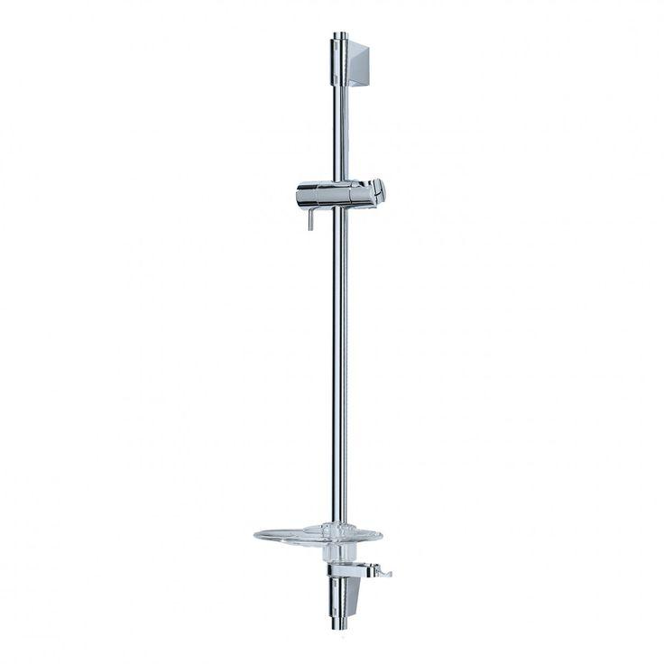 Shower Riser Rail - Andrew - Chrome