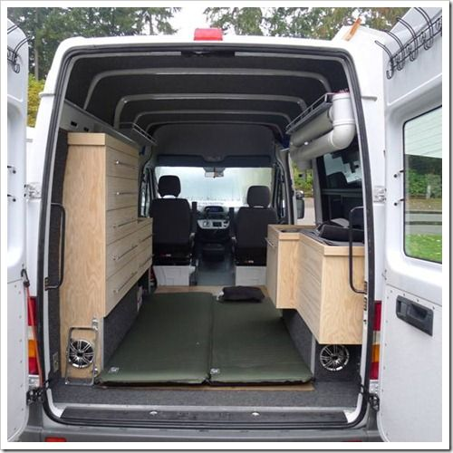 Sprinter Camper Made As DIY Van ConversionCamper