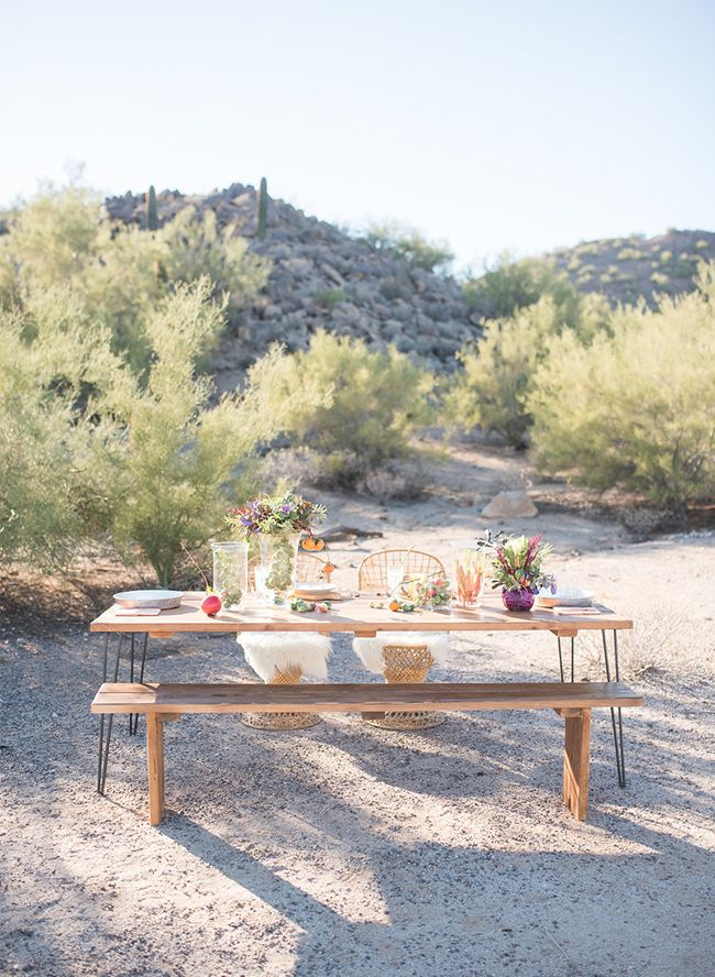Vibrant Southwestern Desert Elopement - Inspired By This