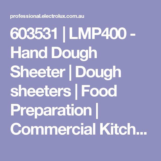603531 | LMP400 - Hand Dough Sheeter | Dough sheeters | Food Preparation | Commercial Kitchen Equipment