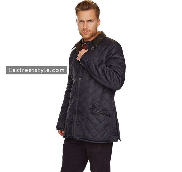 Men Barbour Bisham Quilted Jacket at www.eastreetstyle.com #Barbour Jackets Sale