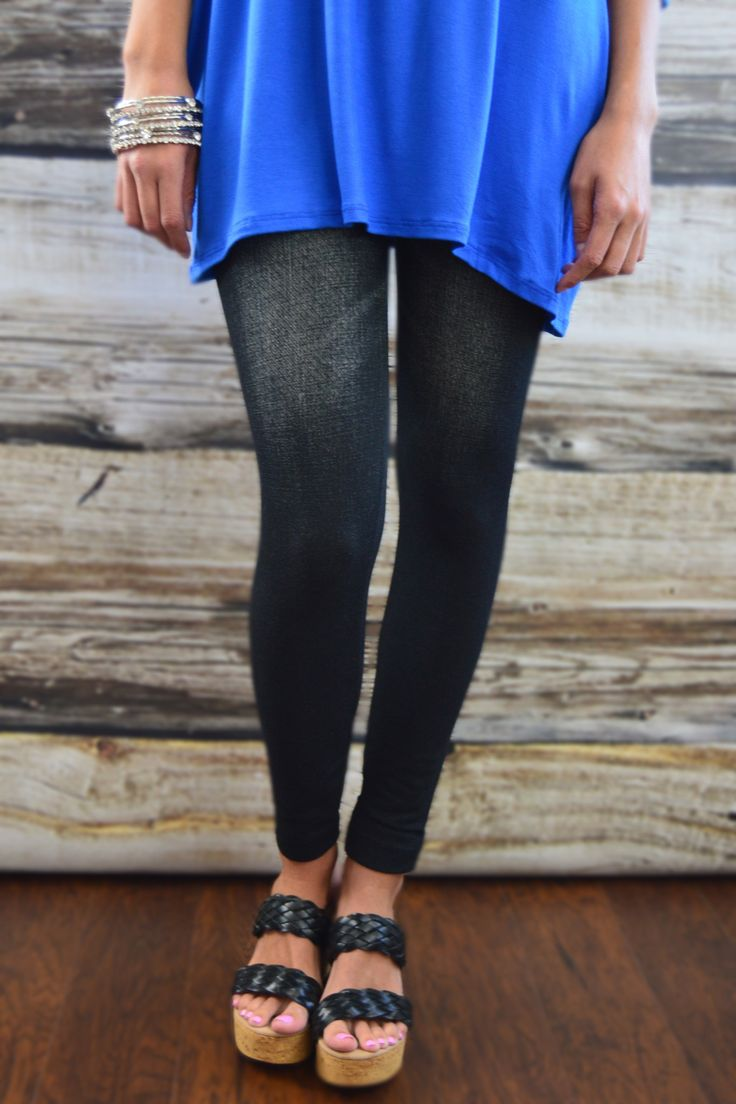 For comfort & fashion conscious women! Our jean-like jeggings are great substitute when you are looking for the style of jeans with the comfort of leggings.