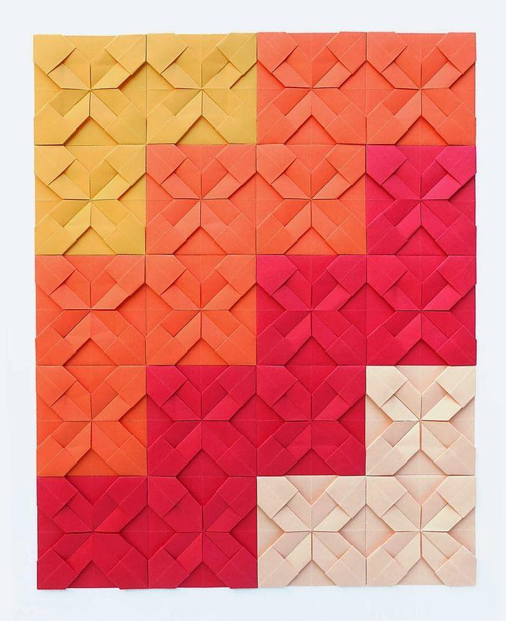 Origami Maniacs: Origami Quilt