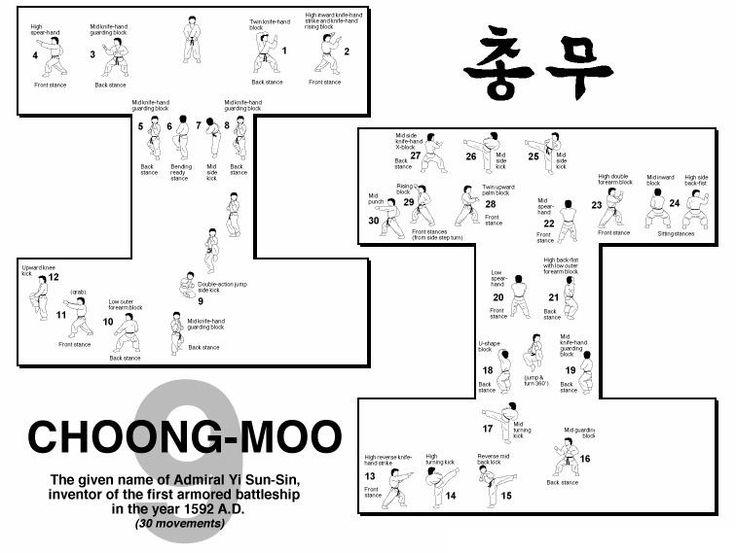 Choong moo ITF 1st Kup
