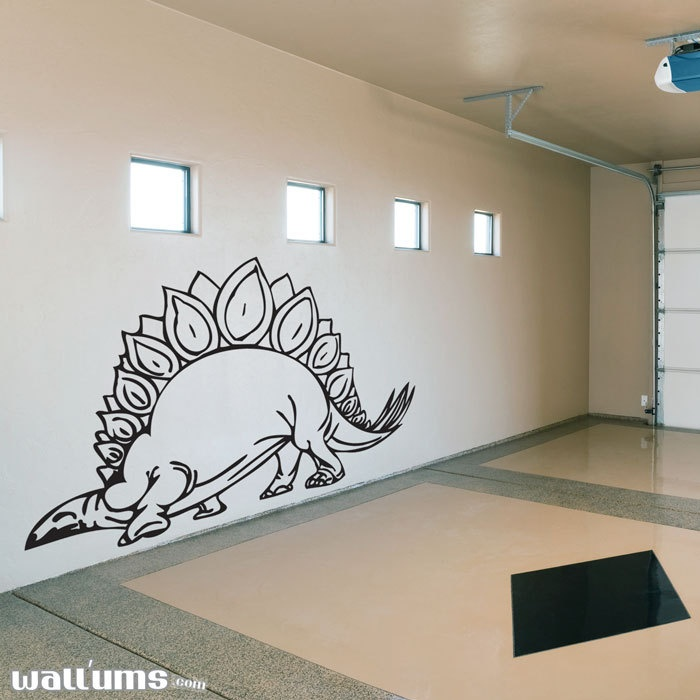 Stegosaurus Dinosaur Wall Decal -Dinosaurs Wall, Dinosaurs Drawing, For Kids, Kids Room, Art Decals, Wall Stickers, Boys Room, Wall Decals Stickers, Stegosaurus Dinosaurs