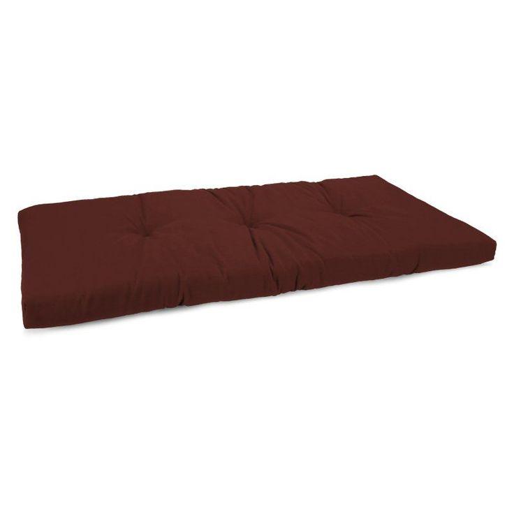Jordan Manufacturing 16 x 45 in. Solid Indoor Bench Cushion Haskett Alegerian - HN9687PK1-I1703