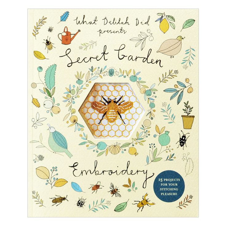 Image of Secret Garden Embroidery - Advance Copy