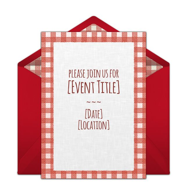 Picnic Invitation Template Family Picnic Celebration Invitation
