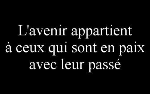 "True indeed _______________________________  "" en conclusion, je n'ai pas d'avenir ..."" - Scrib -"