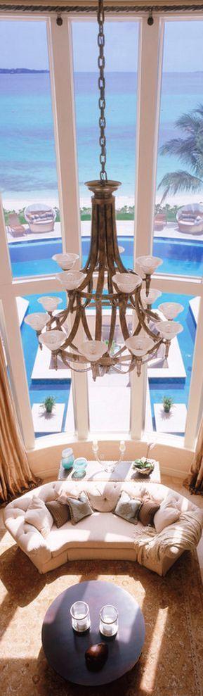 Beach house living room   Millionaire Beach House  #millionaire singles dating  http://www.verifiedmillionaire.com