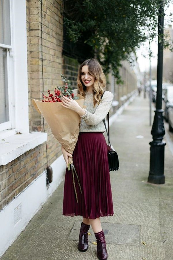 Convient Fall Fashion Ideas for Working Women (17)